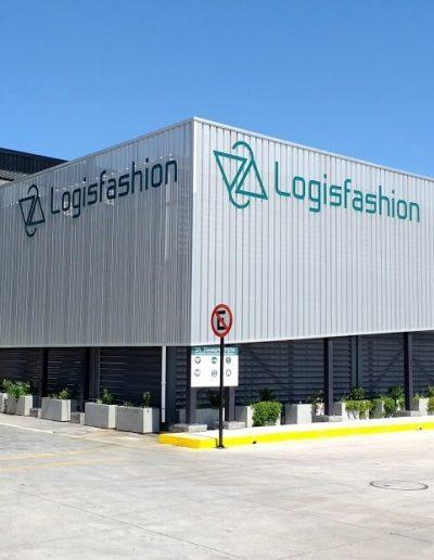 Logo volumétrico Logisfashion