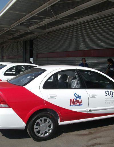 Rotulación de flotas de autos