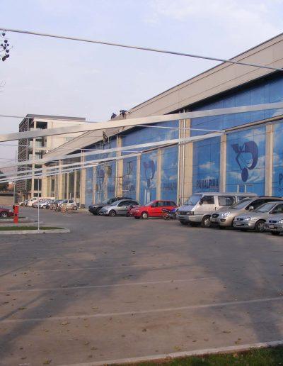Aplicación de window visión fachada panalpina