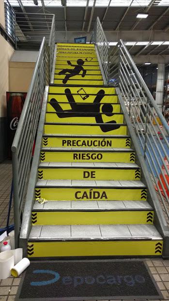 Intervencion de escalera depocargo